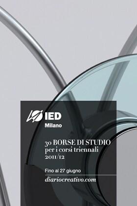 IED Milano / Creative Diary – 30 study grants
