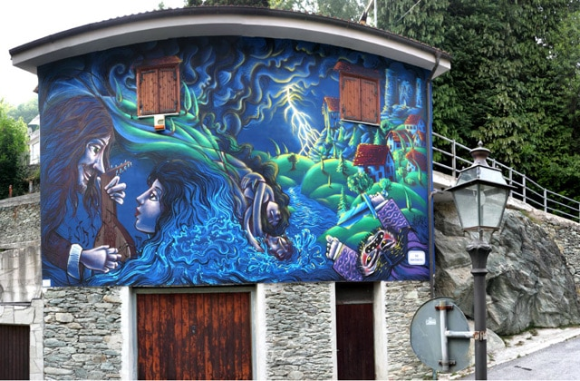 Urban art rediscovers traditions