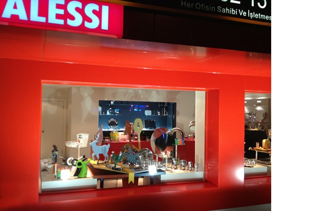 Alessi stores new openings interni magazine for Alessi shop