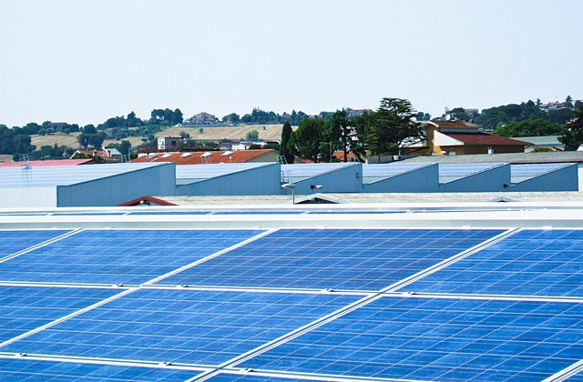 The first integrated photovoltaic system of the Elica Group
