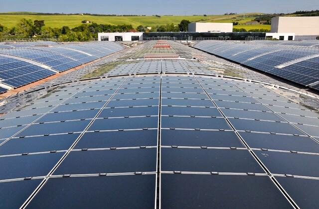 Ernestomeda: energy breakthrough with solar panels