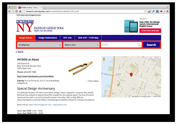 Design guide new york 2014 interni magazine for Icff exhibitors 2014