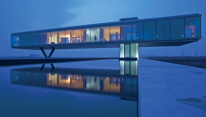Olanda Bridge House Interni Magazine