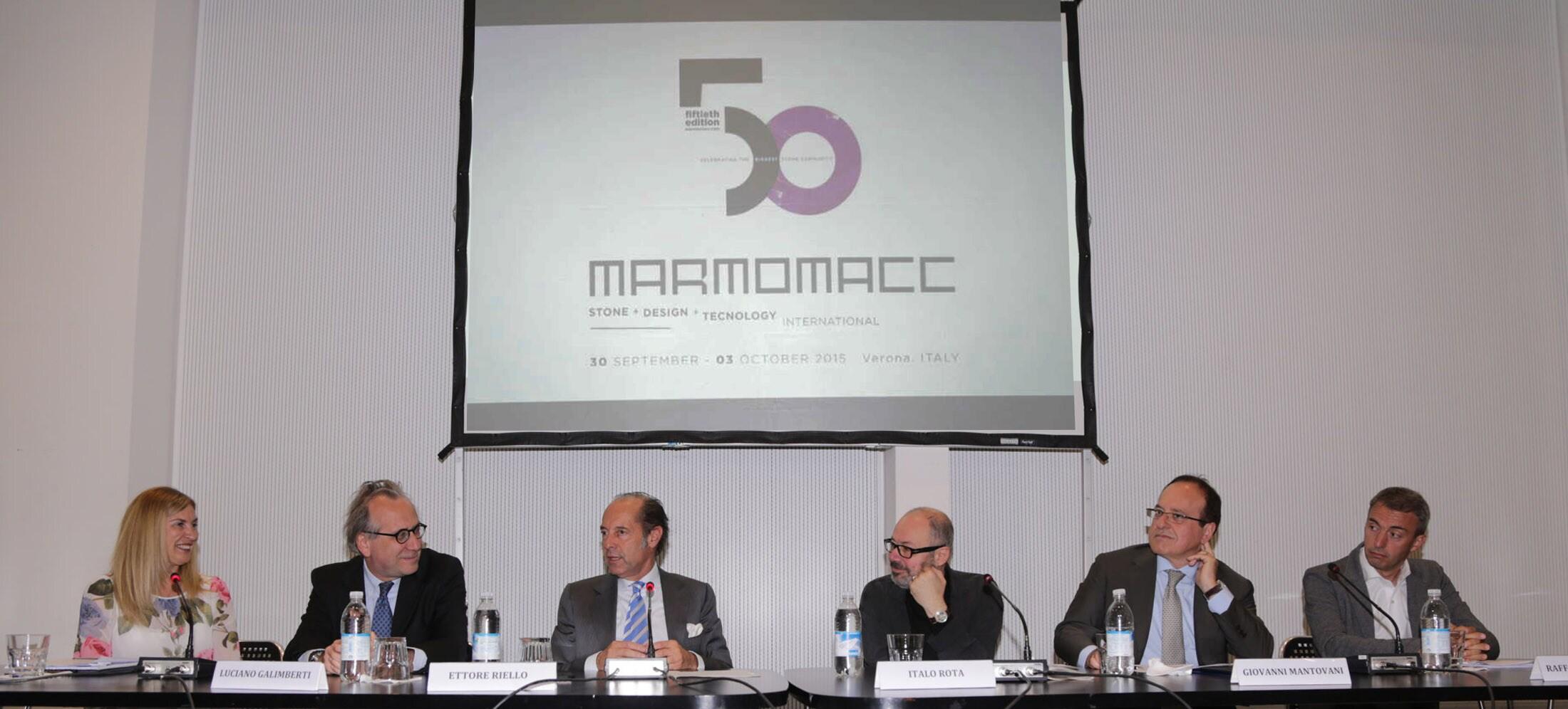 50th edition of Marmomacc with Abitare il Tempo - Interni Magazine