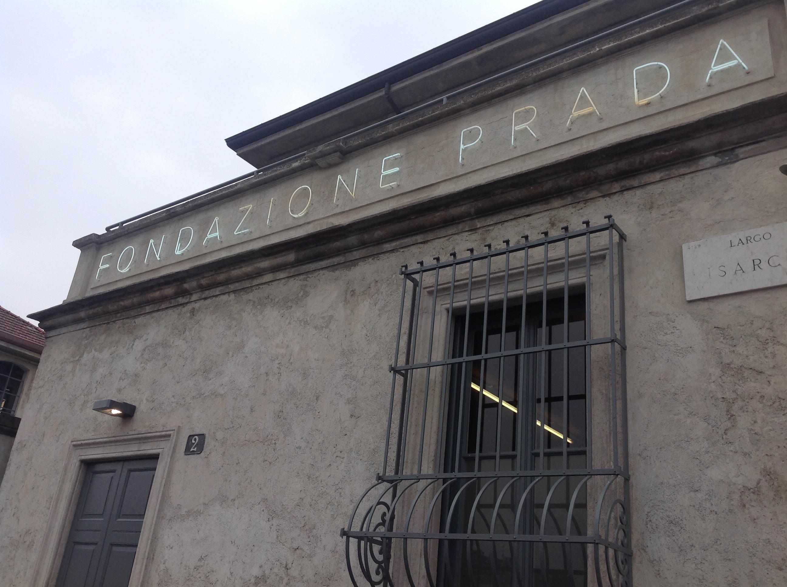 The new Fondazione Prada facility in Milan