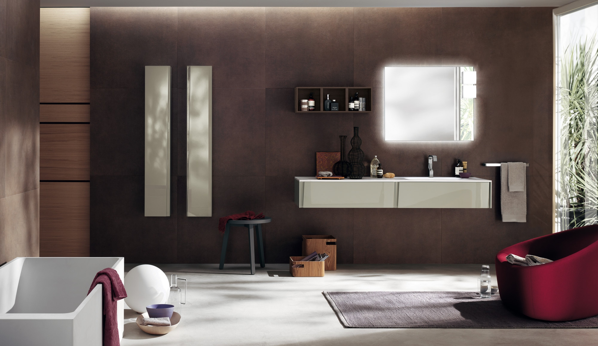 The archetype of a new way of designing and furnishing the bathroom