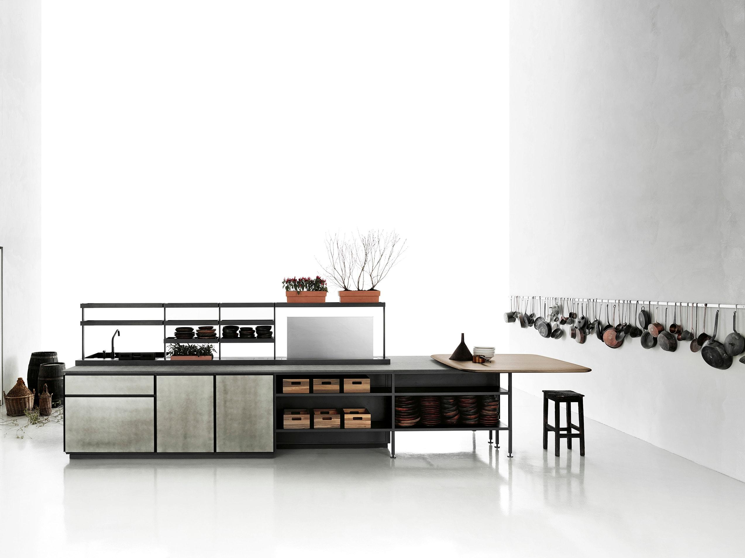 Cucina Scavolini Food Shelf : Cucina ad angolo cad. Cucina a gas ...