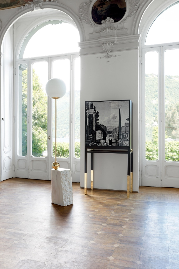 roche bobois gives carte blanche to christian lacroix. Black Bedroom Furniture Sets. Home Design Ideas