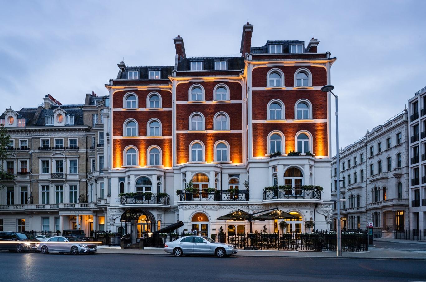 Hospitality made in italy in london interni magazine for Design hotel londra