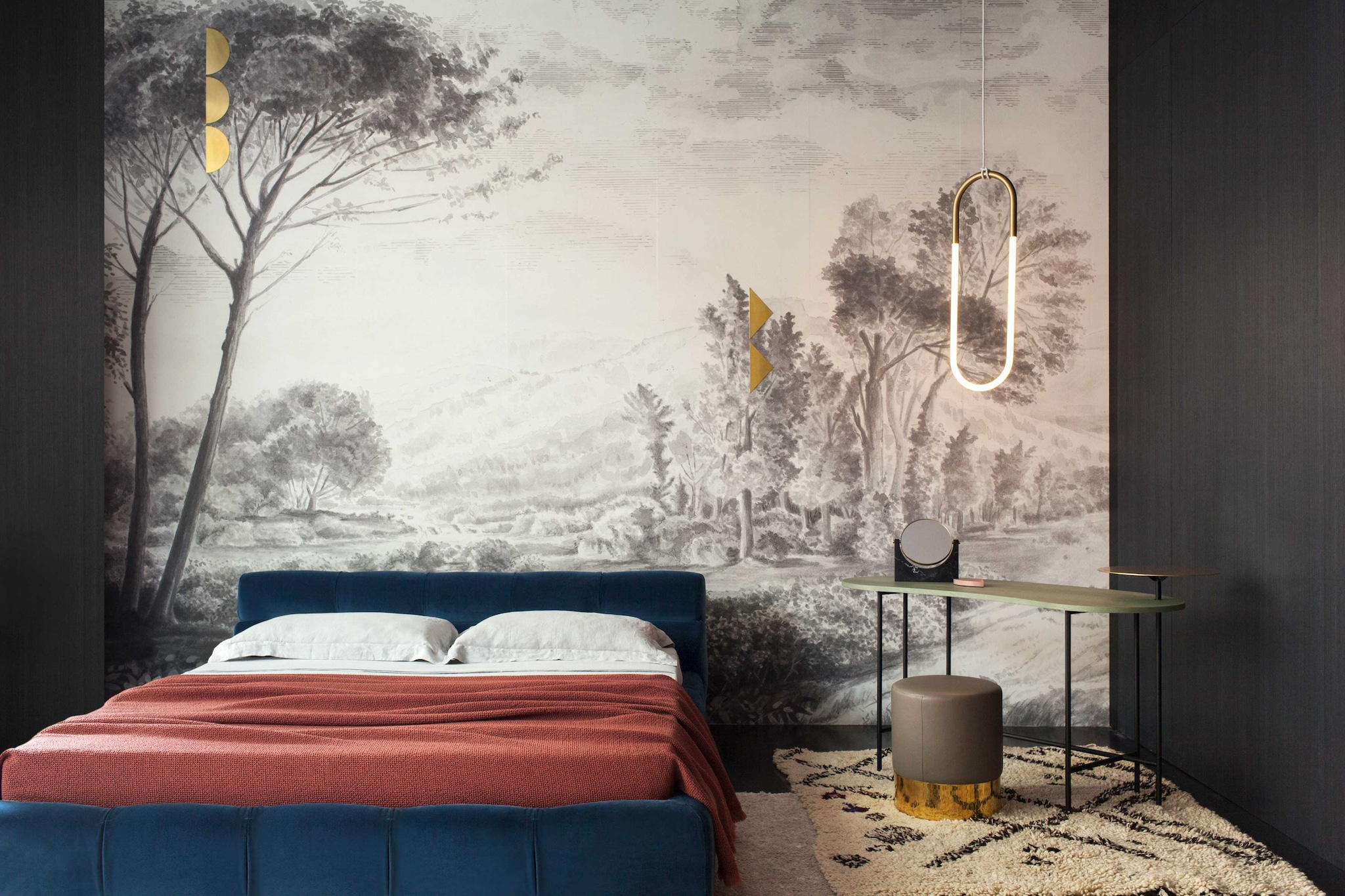 The Wallu0026Deco wallpaper for Spotti is sold