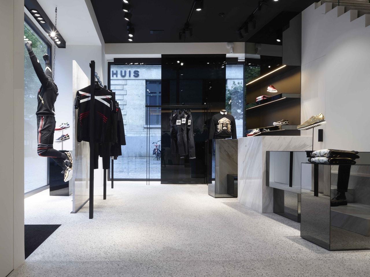 0e94915fc351a Les Hommes flagship store in Antwerp - Interni Magazine