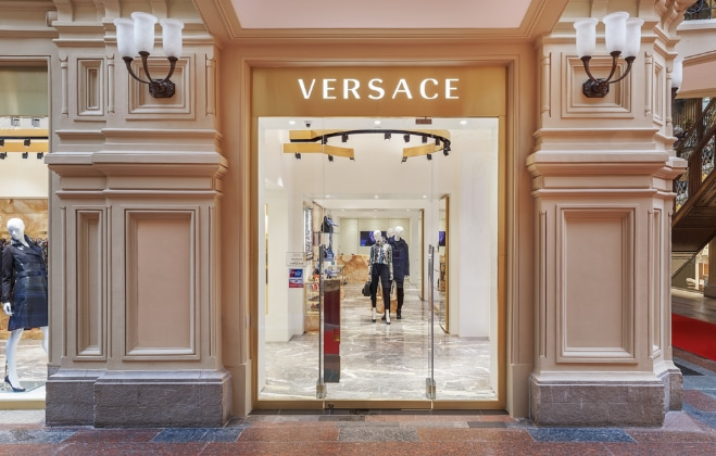 Versace in Moscow