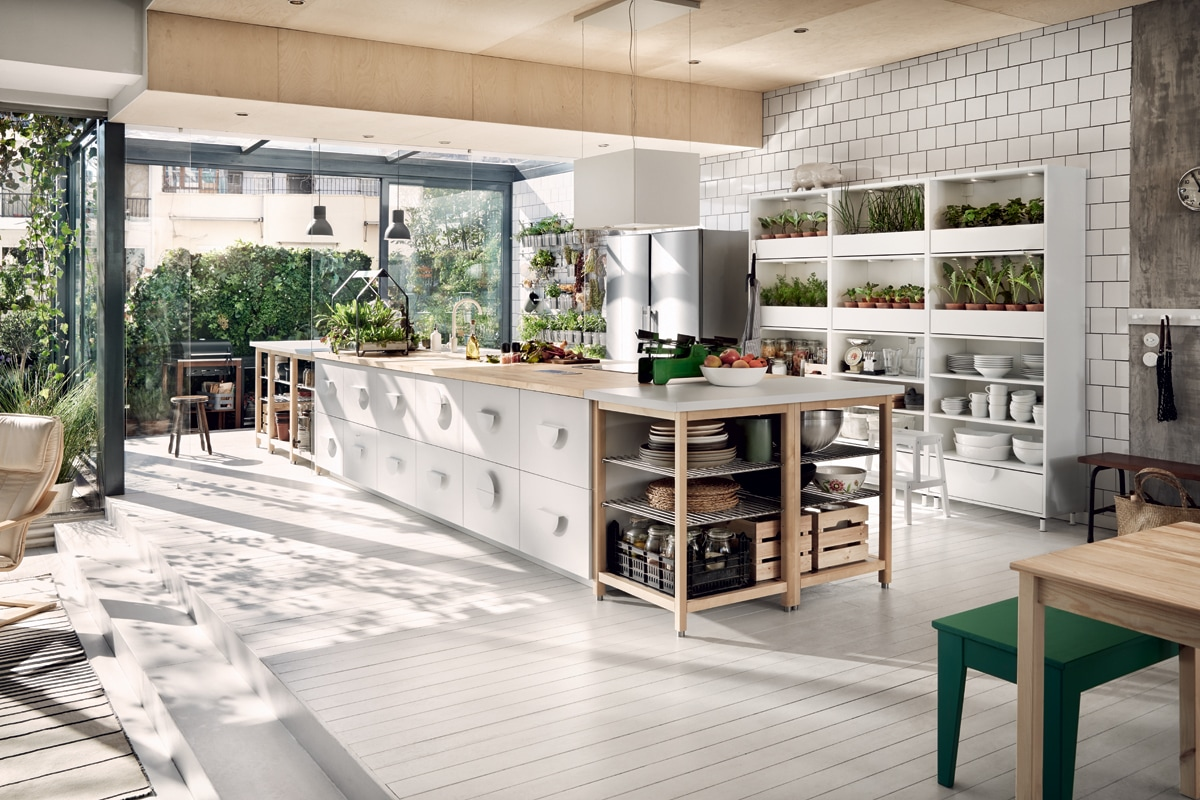 A greenhouse in the kitchen? Only with IKEA - Interni Magazine