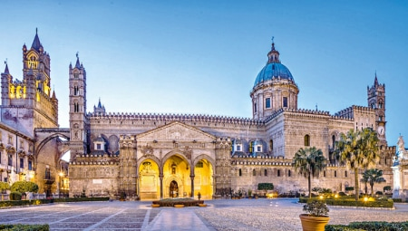 Palermo, the Cathedral.