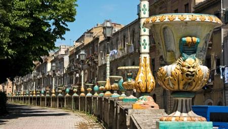 """Caltagirone (Catania), """"the city of ceramics"""""""