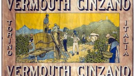 Vermouth Cinzano, Cassiers, 1906