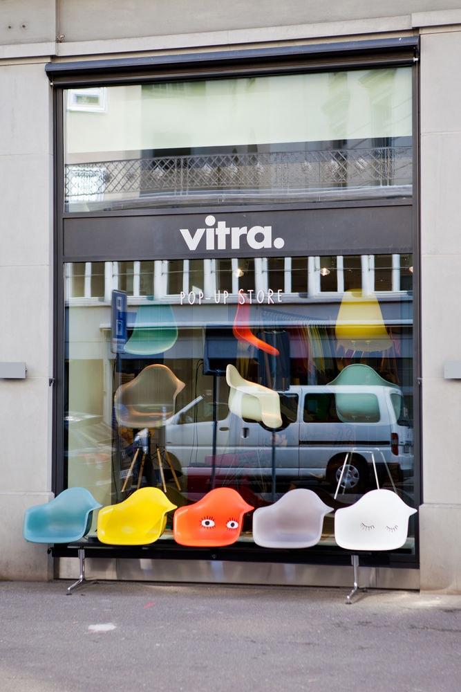Vitra pop up store interni magazine for Boutique vitra