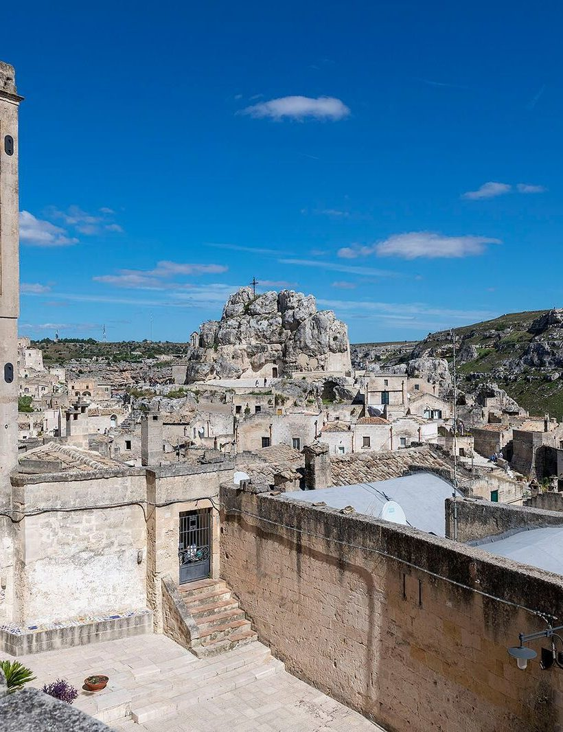 A village on the Sassi in Matera