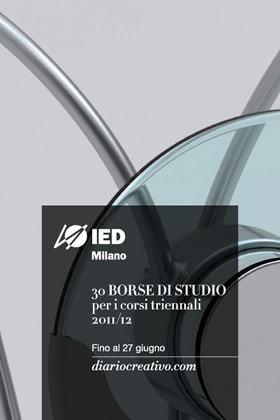 IED Milano / Creative Diary – 30 study grants