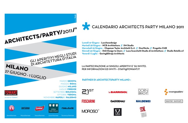 ArchitectsParty/Milan