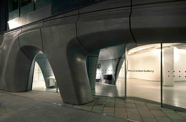 Zaha Hadid Architects and Roca in London