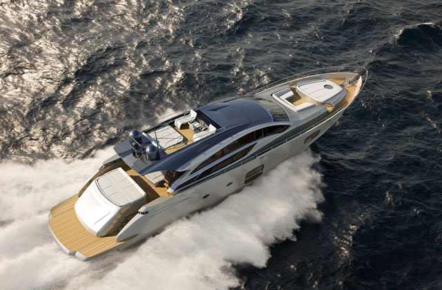 Pershing 82': avant-garde design icon