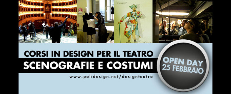 Advanced training courses in Design for the Theater – Sets and Costumes