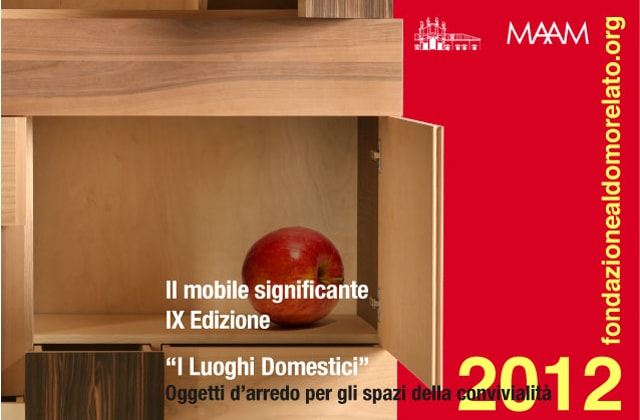 Significant Furniture – Domestic Places. Furnishing objects for convivial spaces