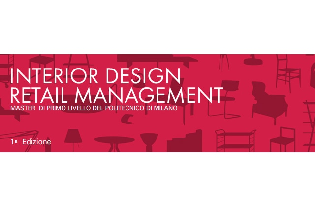 Master in Interior Design Retail Management 2012/13