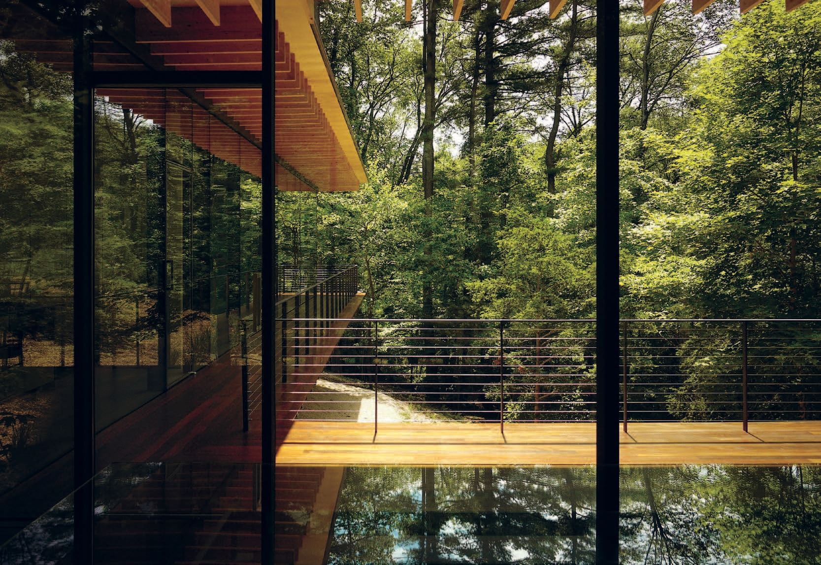 Glass (wood) House 2.0