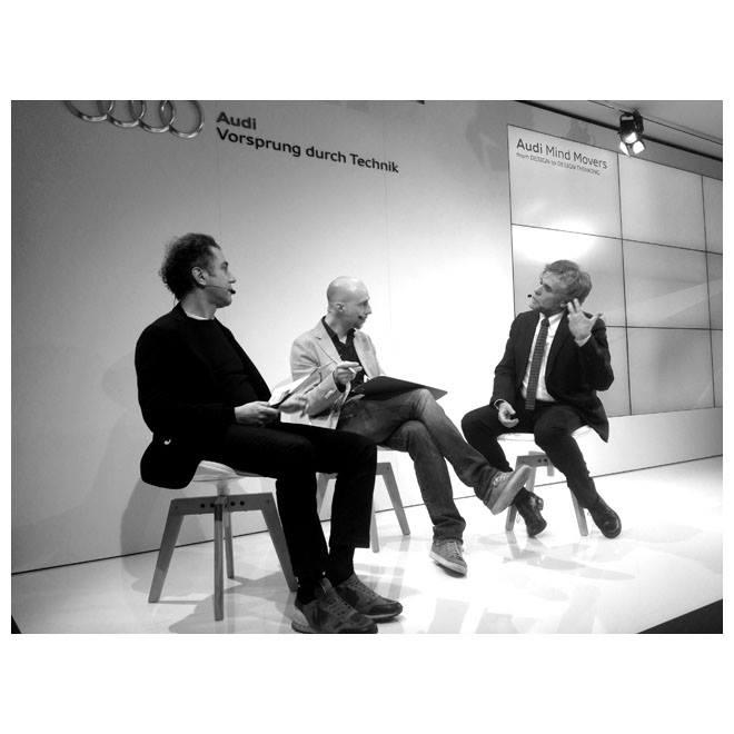 Università degli Studi di Milano| Energy for Creativity by Interni| Audi City Lab| Digital Thinking