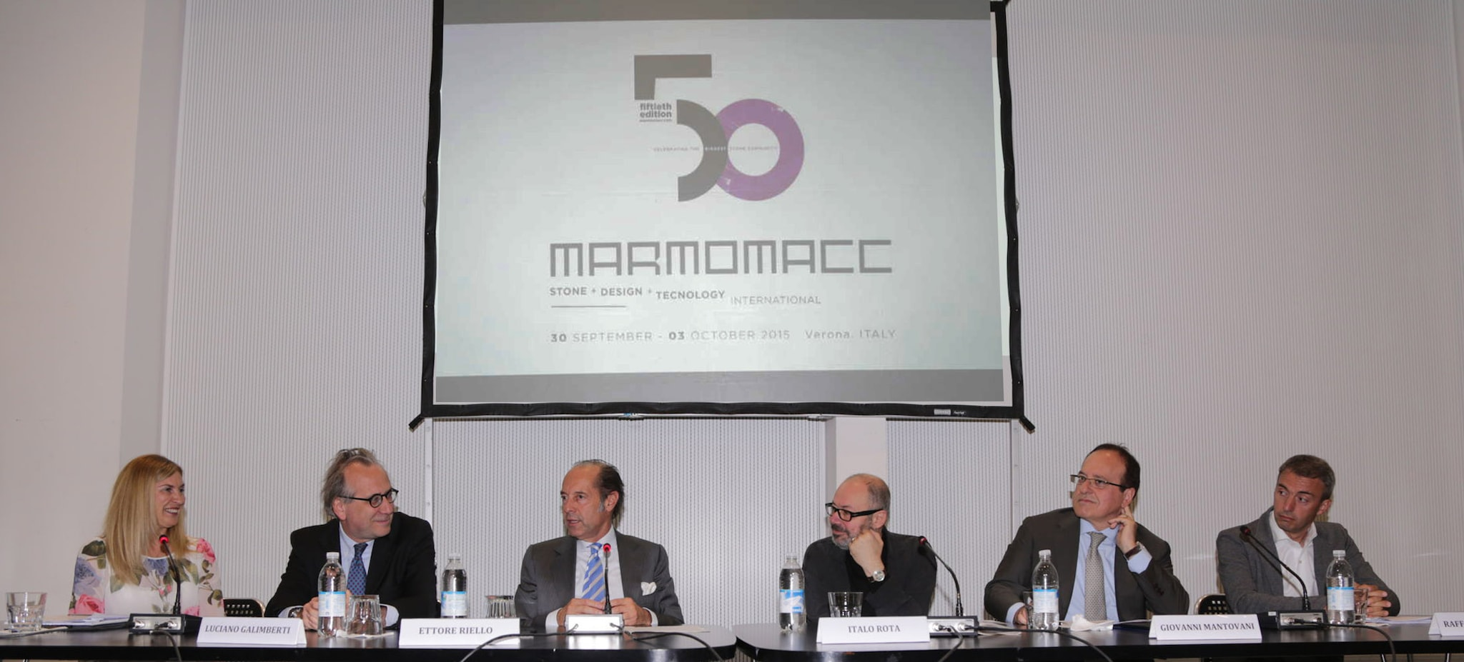 50th edition of Marmomacc with Abitare il Tempo