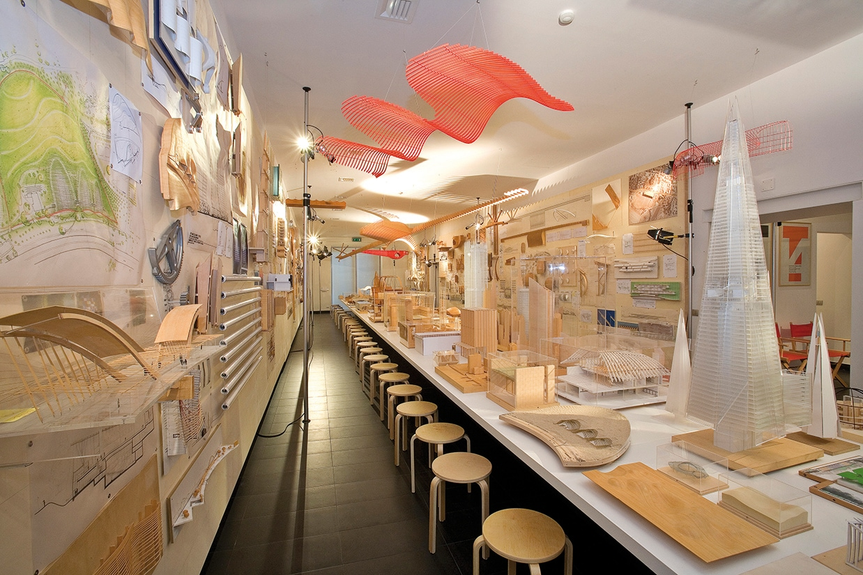 The 'BOTTEGA' of Renzo Piano