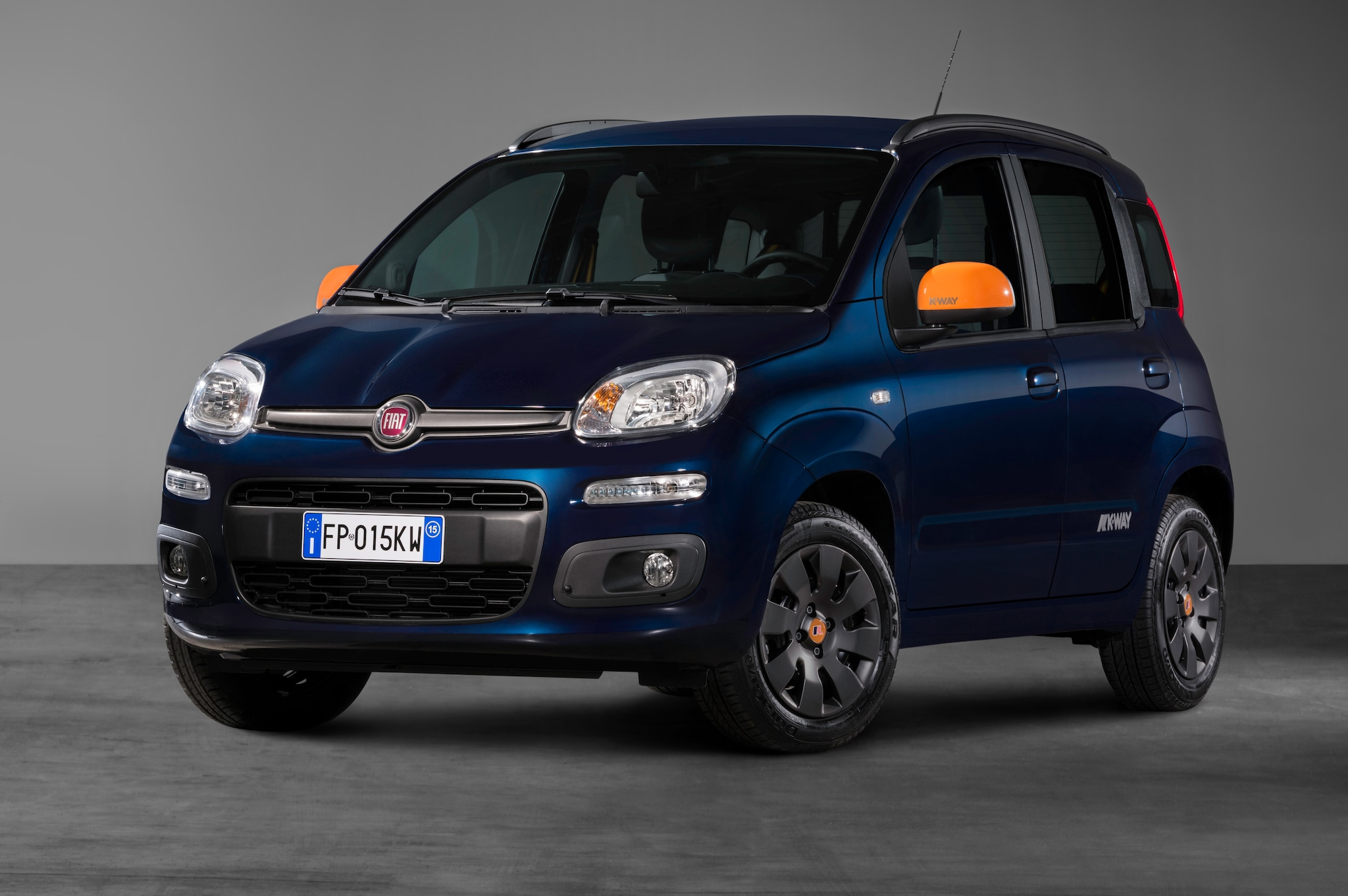 The new Fiat Panda K-Way® seen in the heart of Milan