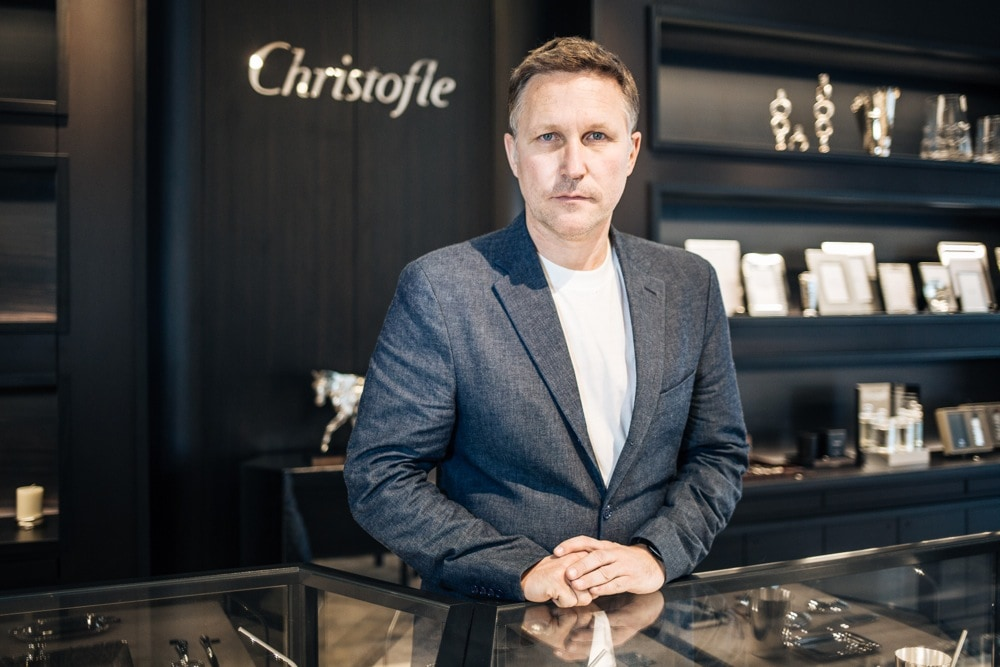 Christofle brings a silver palace into the heart of Milan