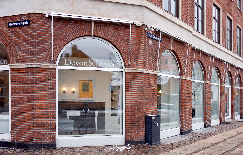 Danish windows for Devon&Devon