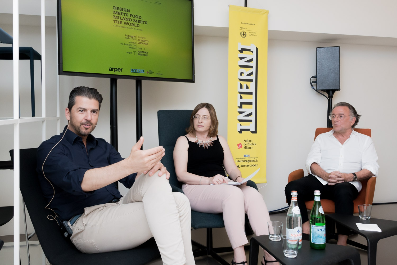 Interni. Design meets Food, Milan meets the World. Arper, 4 June