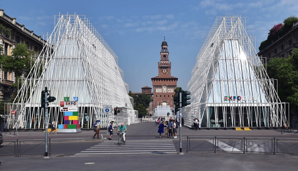 Restoration and new constructions. Secco Sistemi at Expo 2015