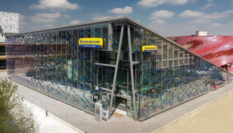 Expo 2015, Resstende for the New Holland pavilion