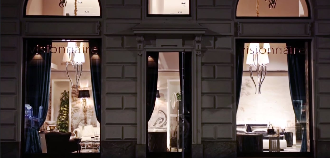 Visionnaire: new monobrand store in Milan