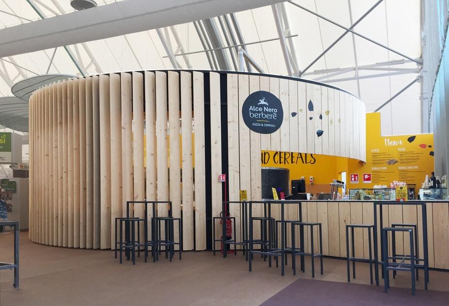 Parametric design and sustainability for the Alce Nero Berberè restaurant at Expo Milano 2015