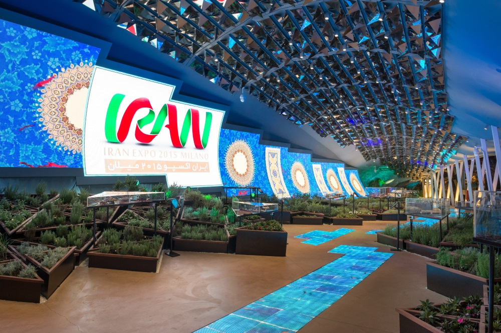 Linea Light for the Iran pavilion at Expo Milano