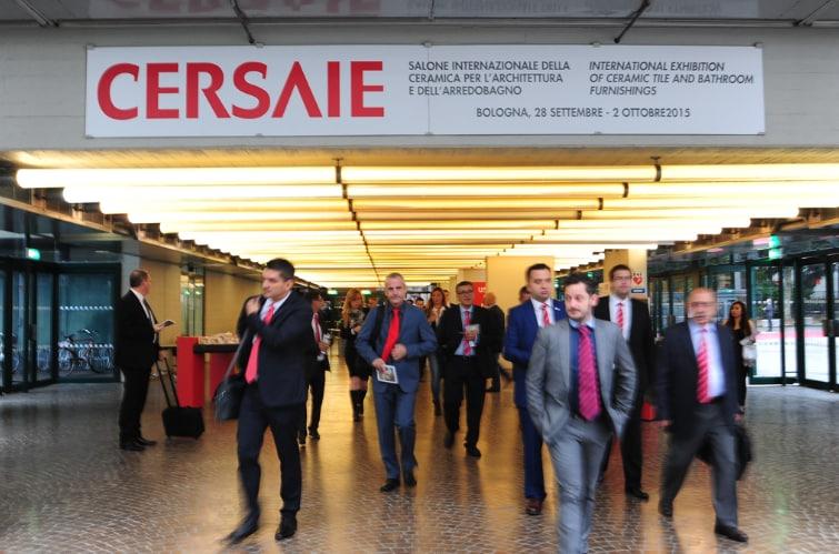 Cersaie 2015 surpasses 101,000 visitors in five days