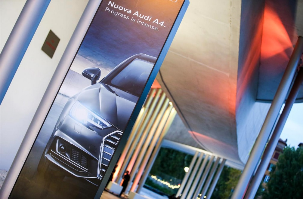 The new Audi A4 between art and culture