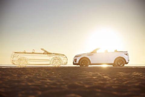 New Range Rover Evoque, a convertible for all seasons