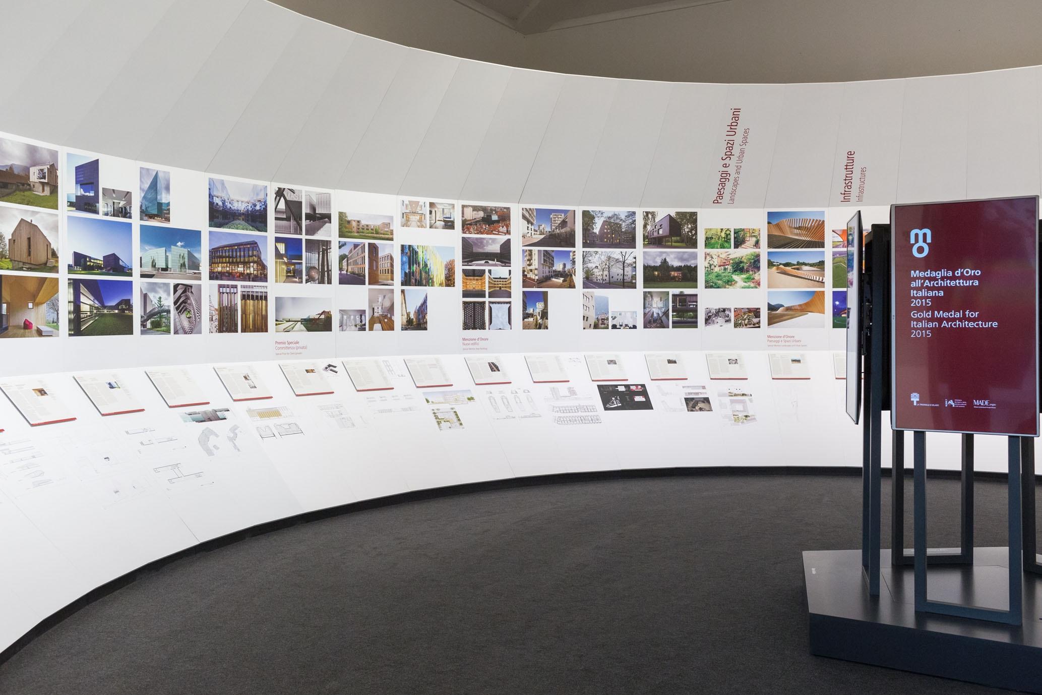Studio Architettura Paesaggio Milano medaglia d'oro all'architettura 2015 for massimo carmassi