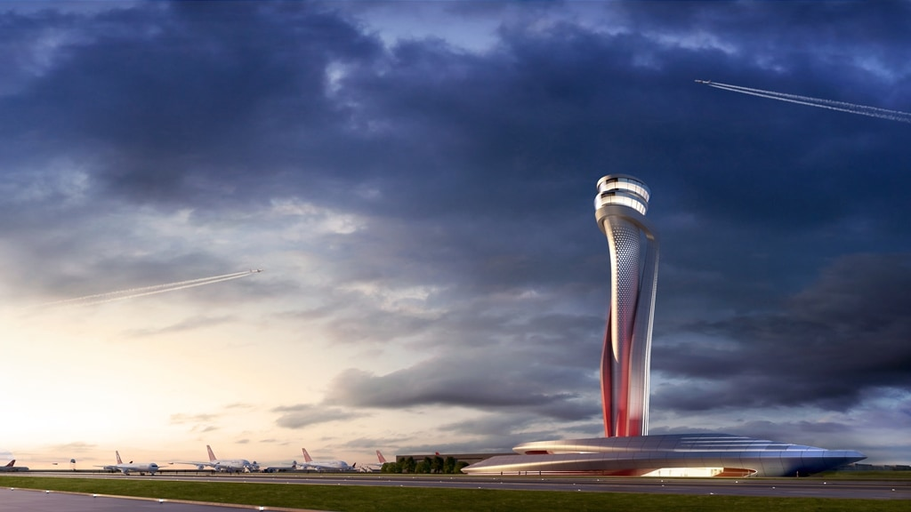 Aecom and Pininfarina win the competition for the new Istanbul airport