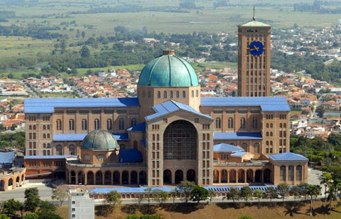 Friul Mosaic and the world's largest Marian Shrine