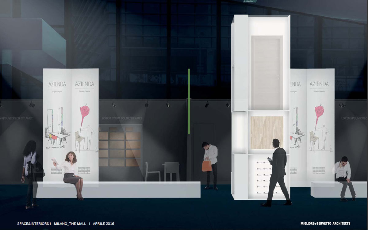 The New Map of Residence, in Milan