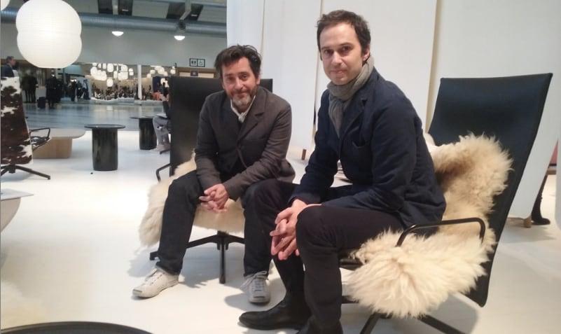 Edward Barber & Jay Osgerby at Stockholm Furniture & Light Fair